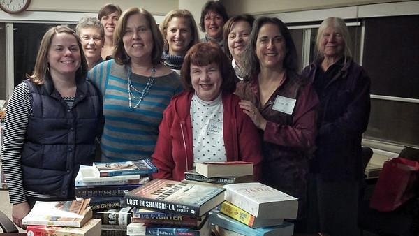 AWE Book Club Holiday Book Swap 12.18.13