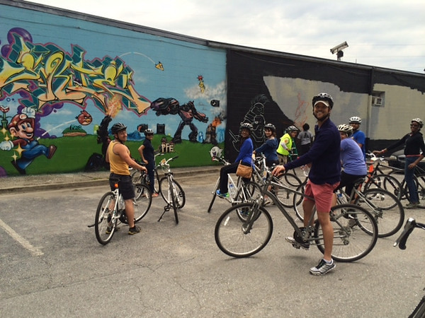 Atlanta Young Alumni Bike Tour 5.17.14