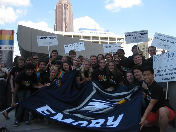 GALA and Emory Pride at the Atlanta Pride Festival 10.13.2013