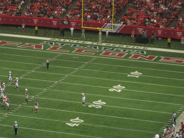 Emory at the Atlanta Falcons - 11.18.12