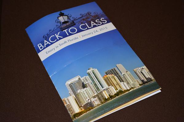Back to Class South Florida January 2015