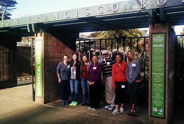 San Francisco Botanical Gardens Volunteer Day 3.28.15