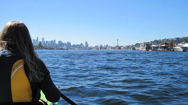 Seattle Kayaking 9.6.2014 Lake Union, WA